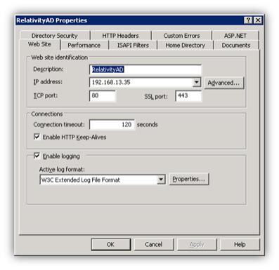 Mixed authentication setup