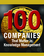 kCura Named to KMWorld 100 Companies That Matter In Knowledge Management