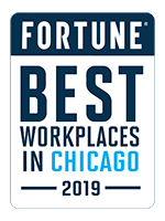 Fortune Best Worksplaces in Chicago 2019